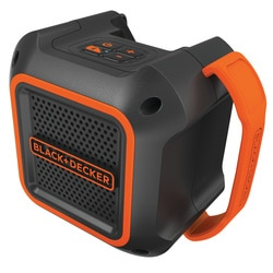 Black and Decker - Reproduktor 18 V s pipojenm pes Bluetooth nebo pes kabel s jackem 35 mm - BDCSP18N