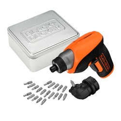 Black and Decker - roubovk 36 V LiIon s pravohlm adaptrem 20 dl psluenstv a lonm drkovm pouzdrem - CS3652LCAT
