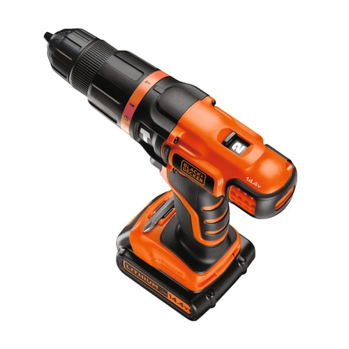 Black and Decker - Pklepov vrtaka 144 V LiIon s 2 pevodovmi stupni - EGBL148K