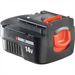 Black And Decker - Baterie 144 V NiCd s kapacitou 15 Ah - A14