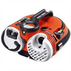 Black And Decker - Kompresor 12 V napjen bateri s vkonem 160 PSI - ASI500