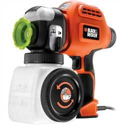 Black and Decker - 2 Speed Heavy Duty Paint Sprayer with Quick Clean - BDPS600K