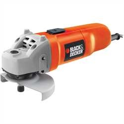 Black and Decker - 710W 115mm Small Angle Grinder - CD115K
