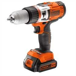 Black and Decker - Vysoce vkonn pklepov vrtaka 144 V LiIon - EGBHP148BK