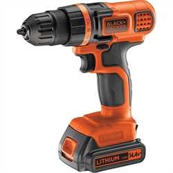 Black and Decker - 144V Lithium Drill Driver - EGBL14KB