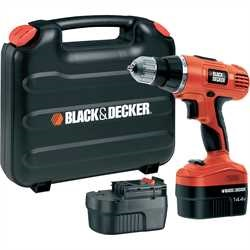 Black and Decker - 144V 2Gear Drill Driver - EPC146BK