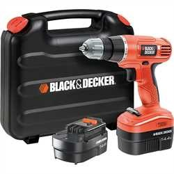 Black and Decker - 144V Drill Driver - EPC14CABK
