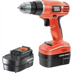 Black and Decker - 144V Drill Driver - EPC14CAB