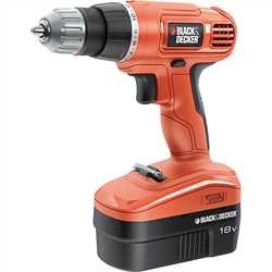 Black and Decker - 18V Drill Driver - EPC18CABK
