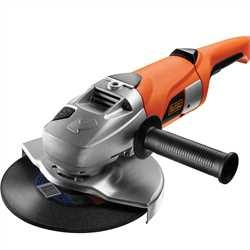 Black and Decker - 2000W 230mm Large Angle Grinder - KG2000