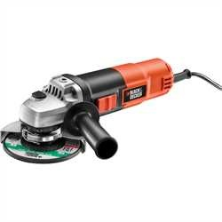 Black and Decker - 900W 115mm Small Angle Grinder - KG901K