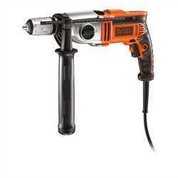 Black and Decker - 910W 2 Gear Hammer Drill - KR911K