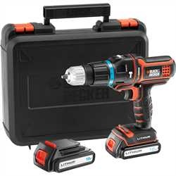 Black and Decker - 18V Multievo hammer drill with additional battery - MT188KB