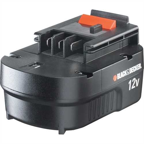 Black and Decker - 12V 12Ah NiCAD Battery - A12