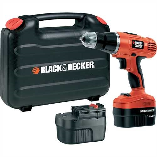 Black and Decker - 144V 2Gear Hammer Drill - EPC148BK