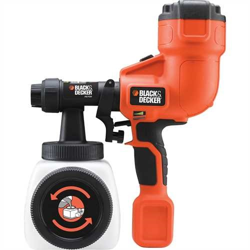 Black and Decker - Stkac pistole pro jemn nstik  run - HVLP200