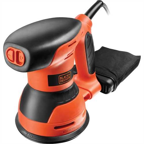 Black and Decker - Excentrick bruska 260 W - KA198