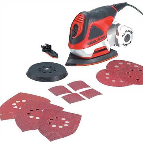 Black and Decker - Multibruska 4 v 1  6 ks psluenstv - KA270