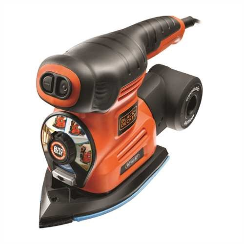 Black and Decker - Multibruska Autoselect 4 v 1  18 kus psluenstv - KA280K