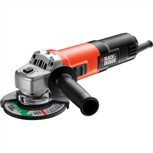 Black and Decker - Mal hlov bruska 750 W 125 mm - KG751