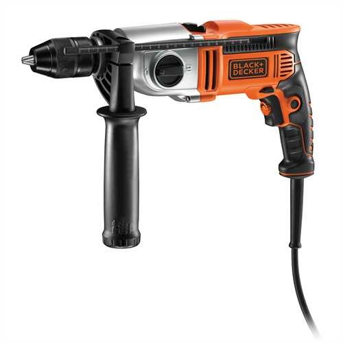 Black and Decker - 850W 2 Gear Hammer Drill - KR8542BK