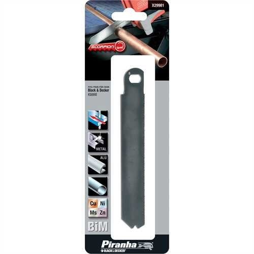 Black and Decker - Scorpion BiM Saw Blade for metal - X29981